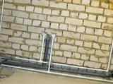 Разводка труб, отопление, водоснабжение